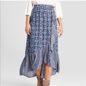 a801a0986ebc9a Knox Rose Skirts | Womens Embroidered High Low Maxi Skirt | Poshmark